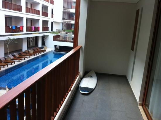 The Magani Hotel and Spa: all rooms overlook pool