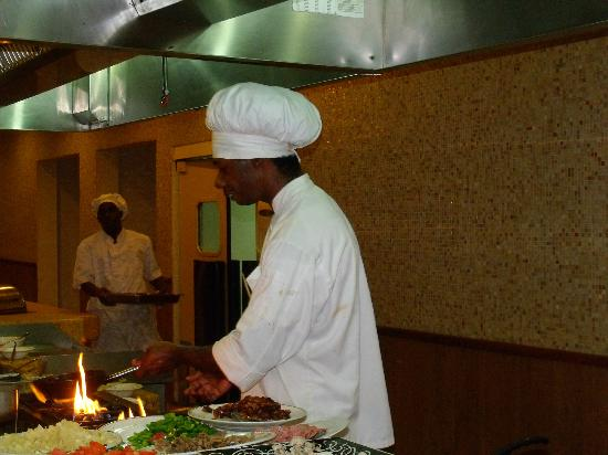 Sunscape Splash Montego Bay : Cooking up your personal pasta dish at the buffet