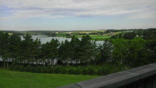 Seawinds Cottages: View from our deck