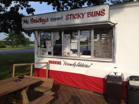 Mr. Sticky's Homemade Sticky Buns : Cassa Mr Sticky's