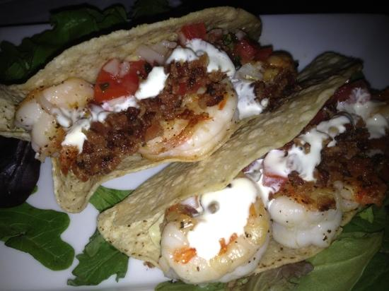 Aspen Grille : Shrimp tacos