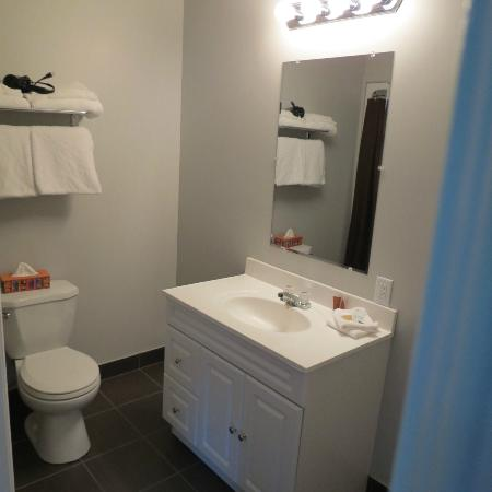 Gros Morne Suites: Bathroom