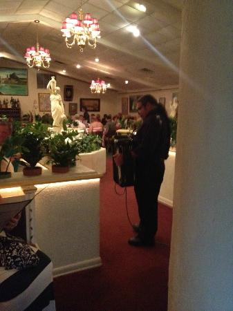 Villa Romana Italian Restaurant Accordion Player