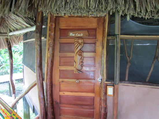 ‪‪Cotton Tree Lodge‬: Door to room