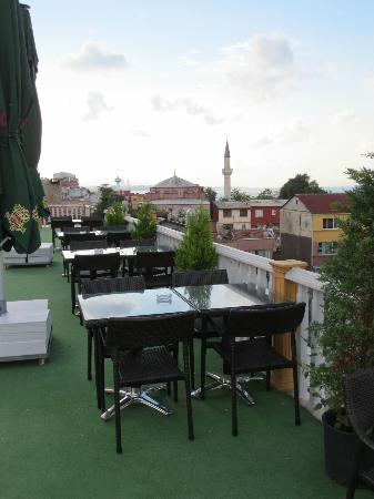 Best Western Antea Palace Hotel & Spa: View on the roof