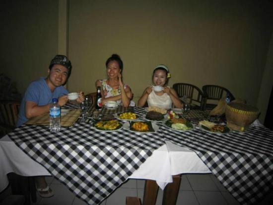 Ketut's Bali Cooking Class: after you finish cook you gonna have amazing meal you cooked