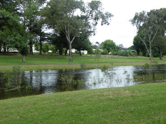 Lake Hamilton Motor Village & Caravan Park : Grange Burn River