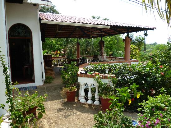 Hotel Villa Casa Blanca: Dinning area