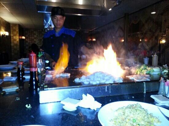 Kono Japanese Steakhouse : dinner at Kono