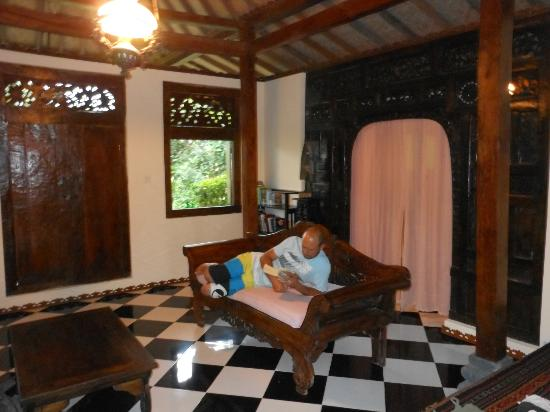 Lotus Limasan Villas: such a relaxed feel