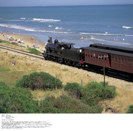ميدلتون كوتيدج: The Cockle Train between Goolwa and Victor Harbor