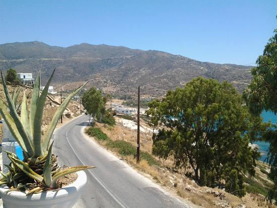 Pelagos Hotel - Apartments: Just a short walk to Mylopotas down this path