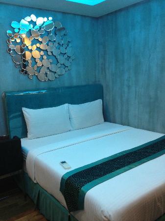 Blutique Hotel: Bed