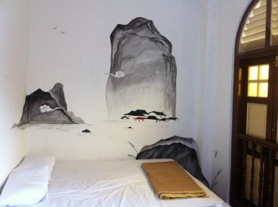 Mari Mari Guest House: Drawing on the Triple Room