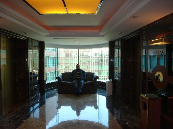 Hotel Nikko Shanghai: pasillos en el hotel
