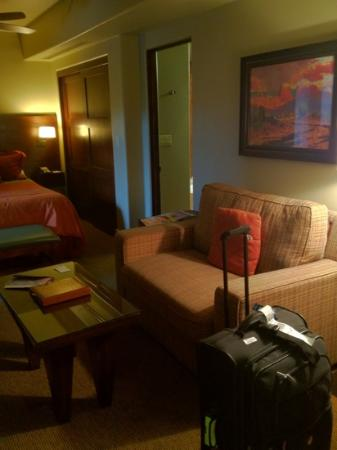 Hyatt Pinon Pointe: couch