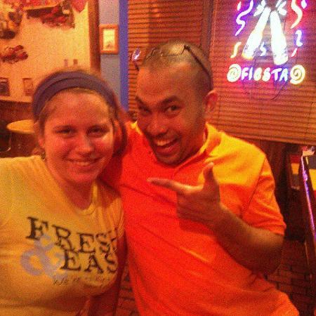 Joe's Crab Shack: Staff Member and I