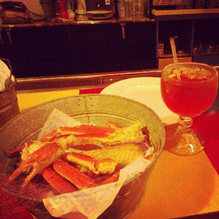 Joe's Crab Shack: Crab and awesome drink