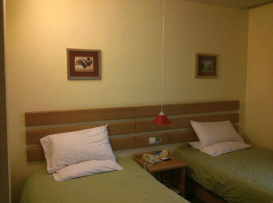 Home Inn (Guangzhou Shengdi Plaza): Bed