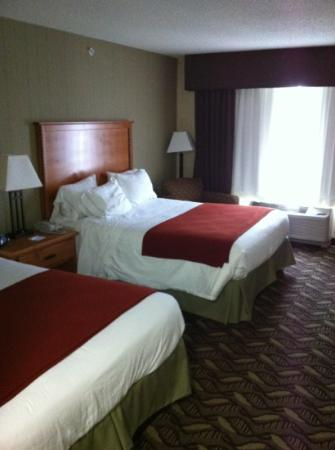 Holiday Inn Express: hotel room