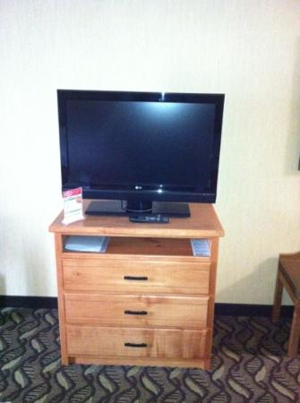 Holiday Inn Express: TV and Stand