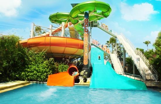 Water Bom Bali vs Adventure Cove Waterpark