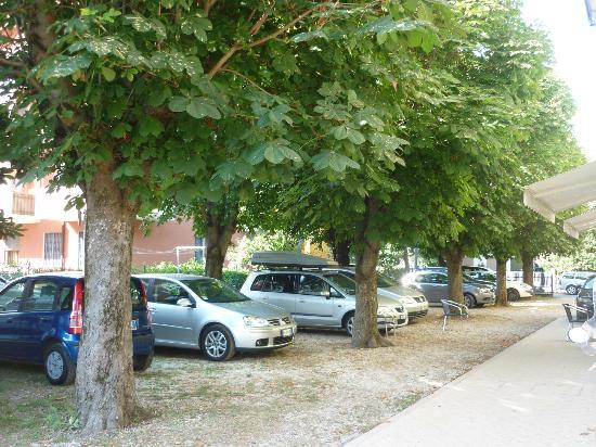 Hotel Argo B&B: Parcheggio