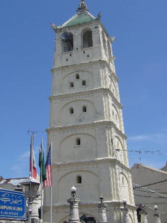 Kampung Kling Mosque: 尖塔です