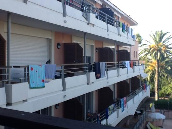 Appart'City Confort Cannes Le Cannet : Terassen