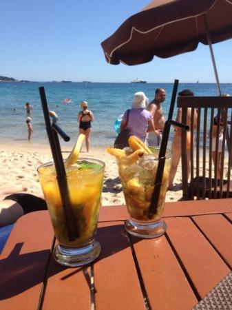 Esterel Plage : Mojito mangue et banane