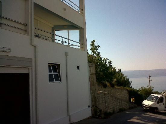 Apartments Maja: vista della casa