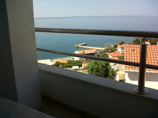 Apartments Maja: dal balcone