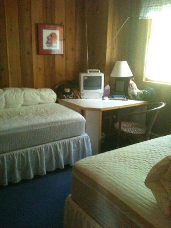 Alaska Chalet Bed & Breakfast: Second bedroom in Rise and Shine... we didn't need it so it wasn't made up