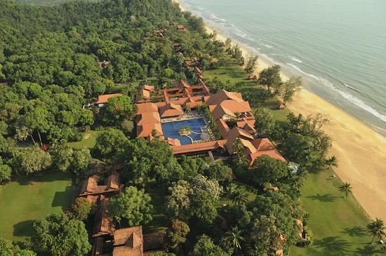 Club Med Cherating Beach: Aerial View