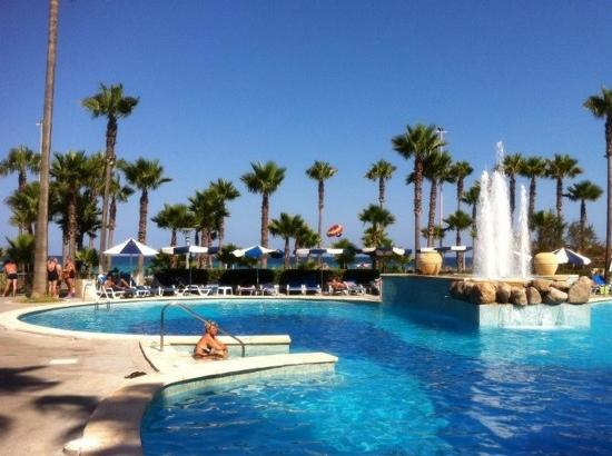 Hipotels Mediterraneo: Hotelpool