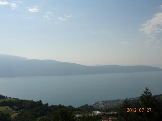 Ca Vecia: lake Garda from Ca' Vecia
