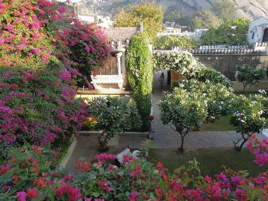 Narlai, India: Garden view