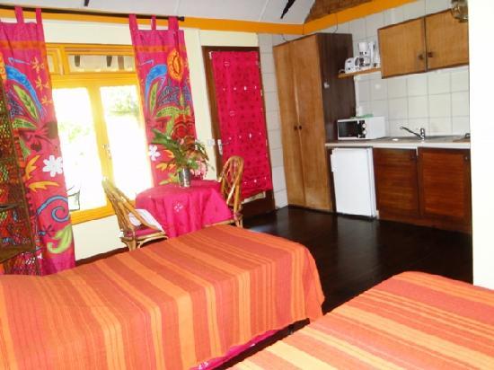 Linareva Moorea Beach Resort: GARDEN STUDIO