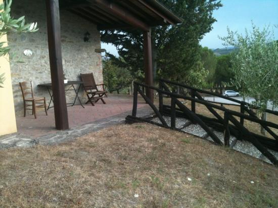 Agriturismo I Muri: casa Floriana (scorcio)