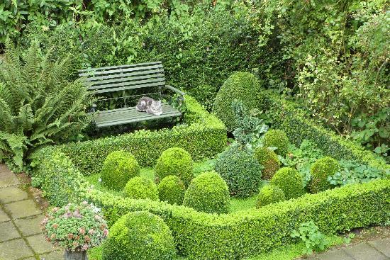 't Reigerszicht Gastenkamers B&B: Joli jardin!...