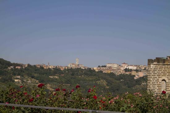 Castello di Monterone: vue sur Perugia