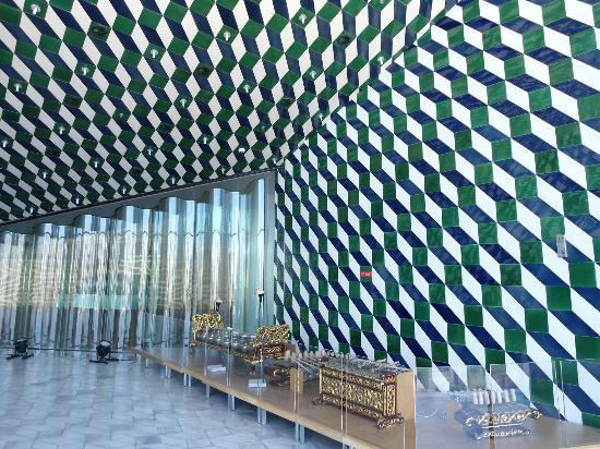 Gioco di azulejos fotograf a de casa da musica oporto - Casa de la musica oporto ...