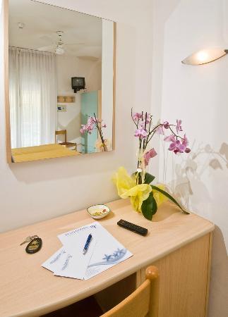 Hotel Ferrara : dettaglio camera