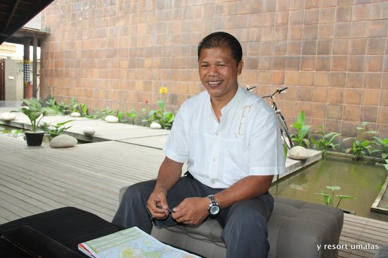 Jay's Villa Umalas: The general manager mr wayan sony