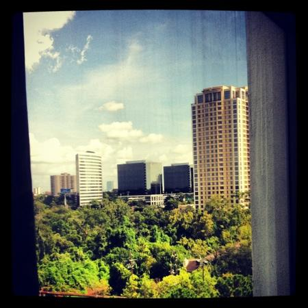 Omni Houston Hotel: view from room 914