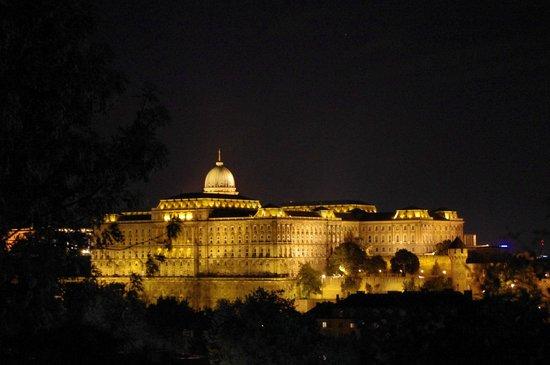 vista del Castello dal monte Gallert 10' dall'hotel Charles