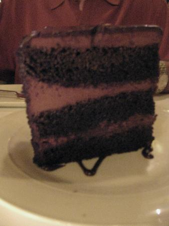Roots Steakhouse: Triple Layer Chocolate cake