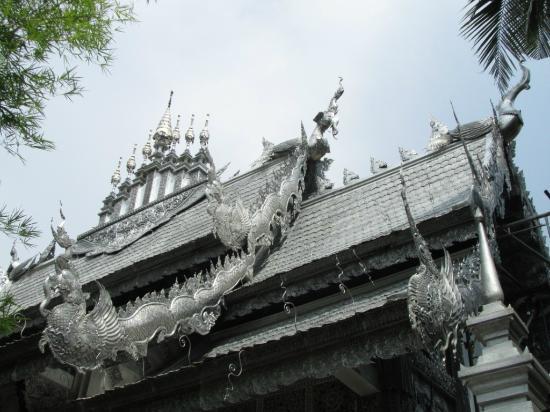 Wat Sri Suphan: Silver chapel detail