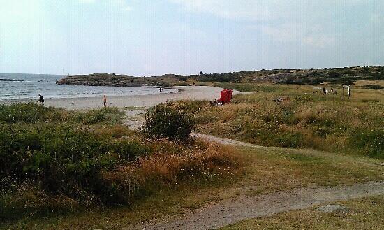 Restaurang Parasollen: Nice beach