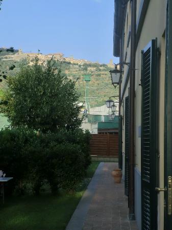 Seven: Cortona desde el edificio del hotel